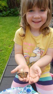 Edie - outdoor play